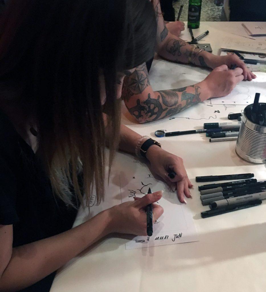 Live Portrait Zeichnen
