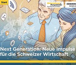 Commerzbank: Unternehmerperspektiven Studie Schweiz