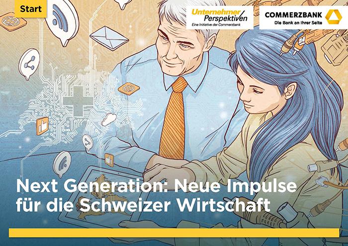 Commerzbank Unternehmerperspektiven Studie Schweiz