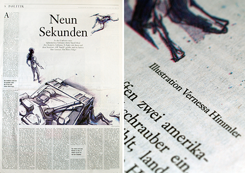 Zeitung Illustration