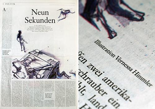 Zeitung Illustration