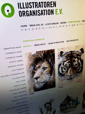 Illustratoren Organisation Website