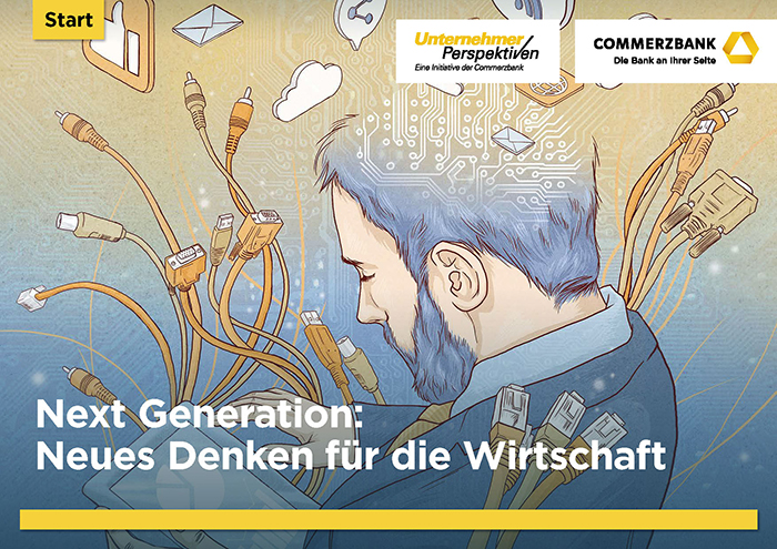 Commerzbank Next Generation Studie Illustration