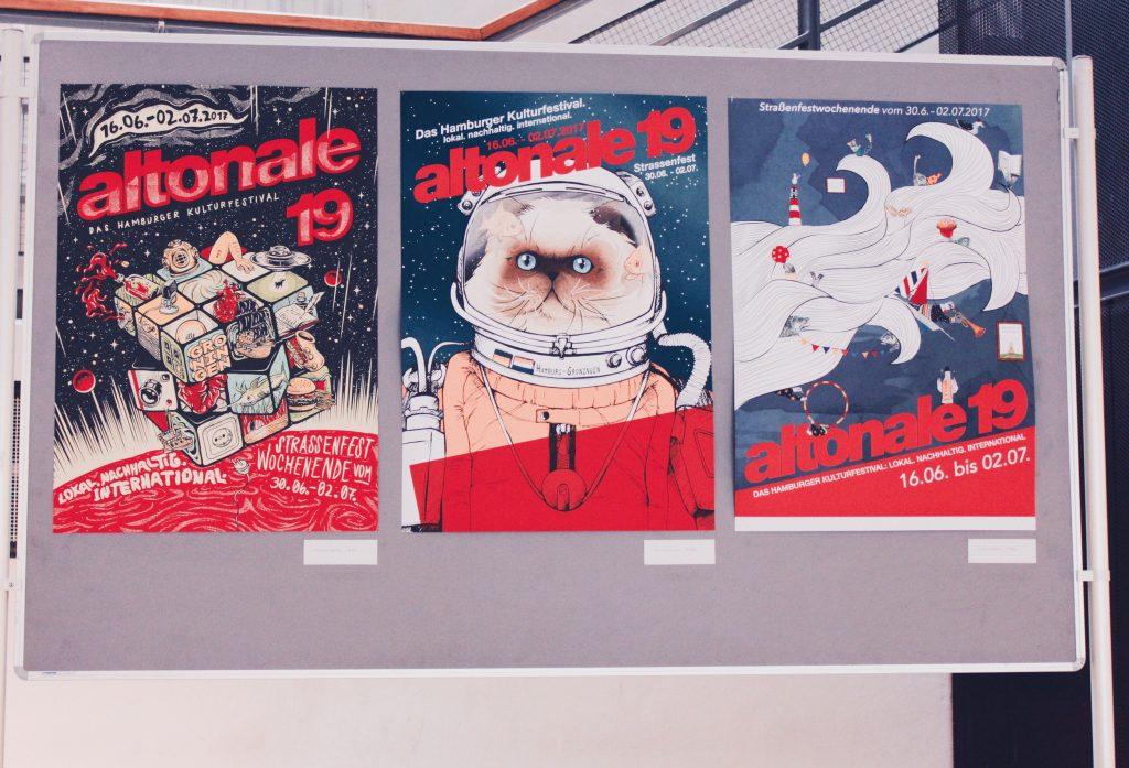altonale Preisverleihung Plakatwettbewerb Hamburg Illustrator Illustration