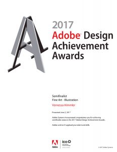 Adobe Design Achievement Awards ADAA Zertifikat