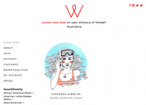 illustratorinnen women who draw Illustrator Hamburg