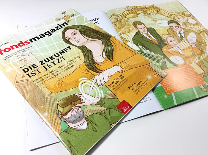 fondsmagazin dekabank inhalt cover