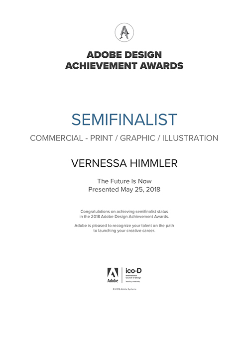 Semifinalist Vernessa Himmler Illustration Adobe Awards