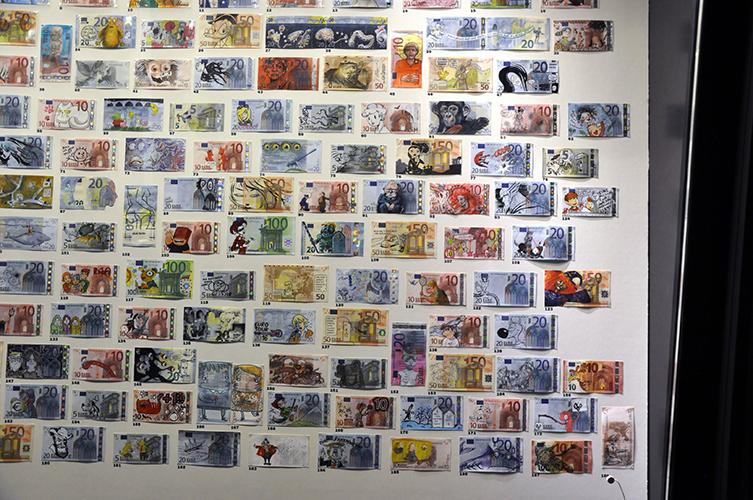 Ausstellung Leipzig Geldkulturerbe Illustratoren Kunst