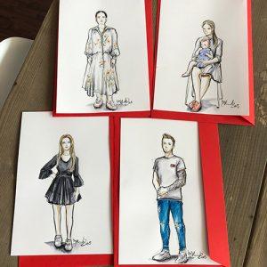 Live Sketching Beauty Fashion Illustrations Hamburg Event