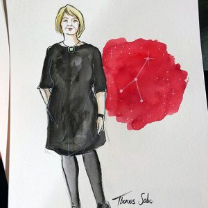 Brigitte Style Day Live Sketching Fashion Event Zeichner Hamburg