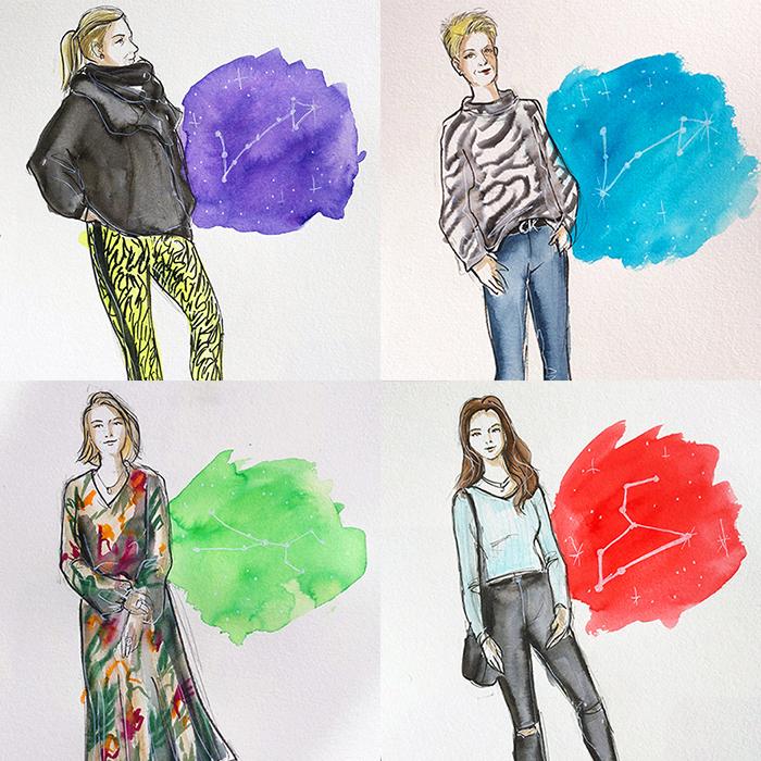 Fashion Live Sketching Beauty Event Zeichner Hamburg Thomas Sabo